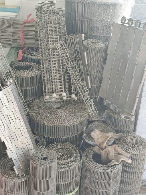 Băng tải bằng lưới inox 304