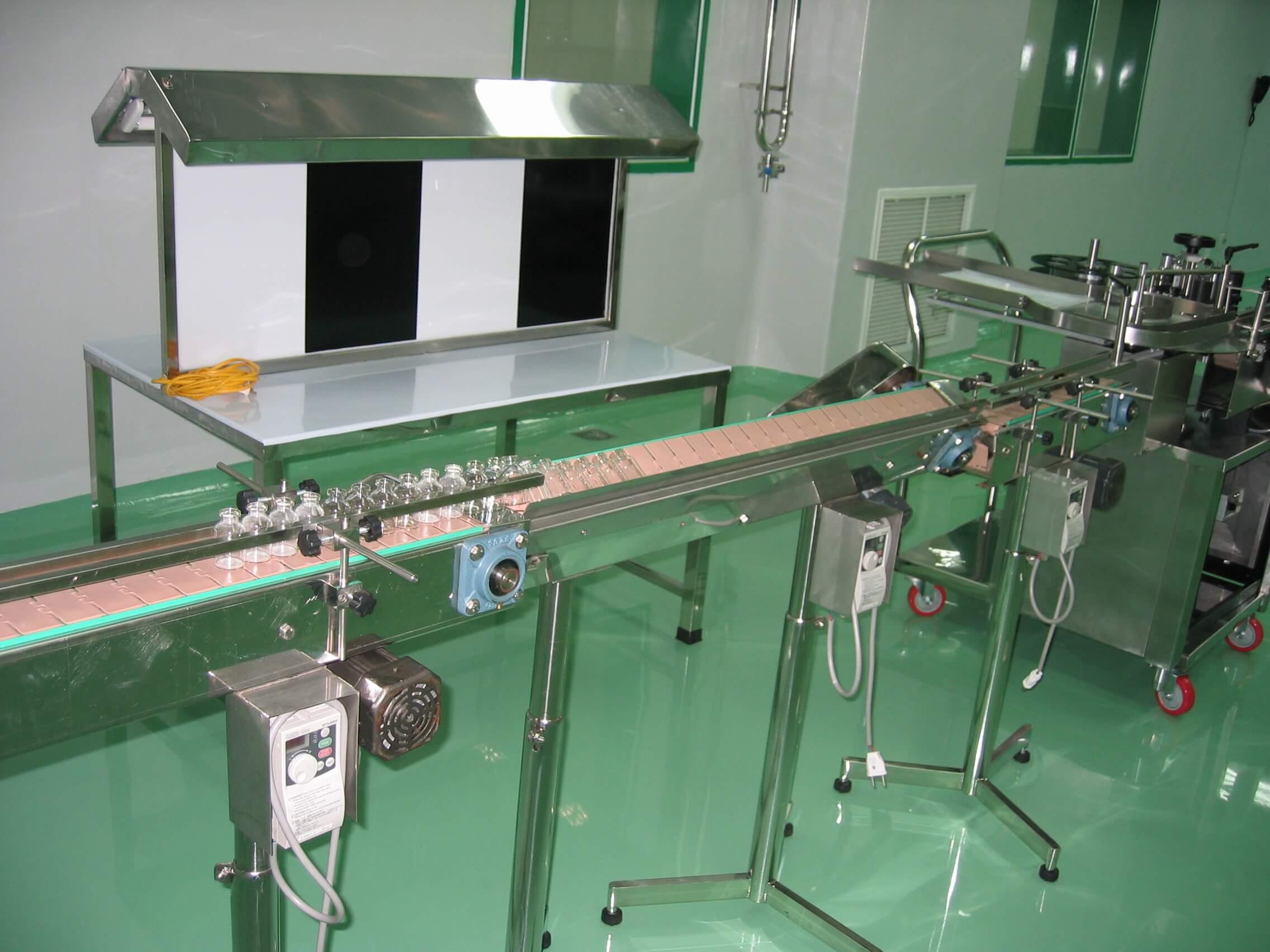 hệ thống băng tải đếm sản phẩm