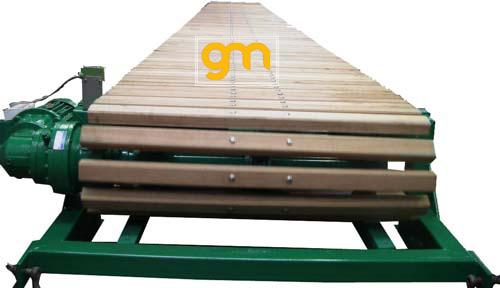 chế tạo băng tải xích gỗ